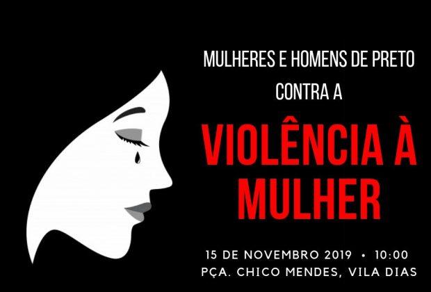 Passeata de combate a Violência Contra Mulher acontece nesta sexta (15) em Mogi Mirim