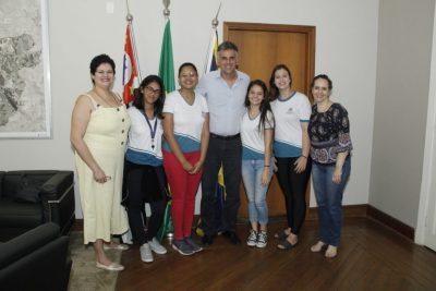 ESTUDANTES DE JAGUARIÚNA VÃO REPRESENTAR A CIDADE EM FEIRA DE CIÊNCIAS E TECNOLOGIA, NO PARÁ