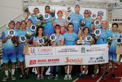 Equipe de corrida da CORUG/SET tem bom desempenho na 3ª Corrida Espaço One