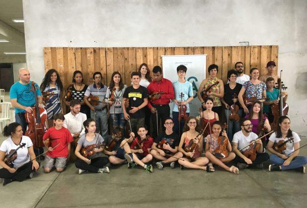 Orquestra Jovem Circuito das Águas (OJCA) faz concertos nos próximos domingos em Amparo