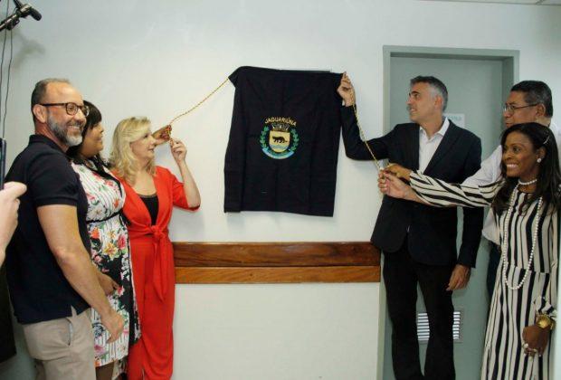 Prefeitura de Jaguariúna inaugura equipamento de densitometria óssea no Hospital Walter Ferrari