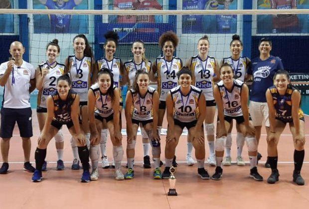 Amparo conquista o ouro no voleibol dos Jogos Abertos do Estado de São Paulo