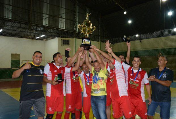 Furacão Baiano é campeão do 1º Campeonato Municipal de Futsal Veteranos