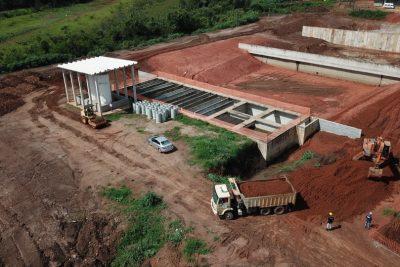 Construção de dois módulos vai garantir esgoto tratado em toda a zona norte