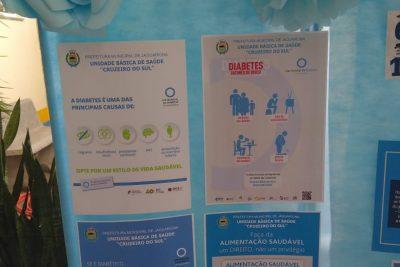 """Campanha em Jaguariúna no """"Dia Mundial do Diabetes"""" registra 1452 exames realizados"""