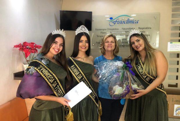OR – Malu recebe as promotoras das Festas do Figo e Expogoiaba de Valinhos
