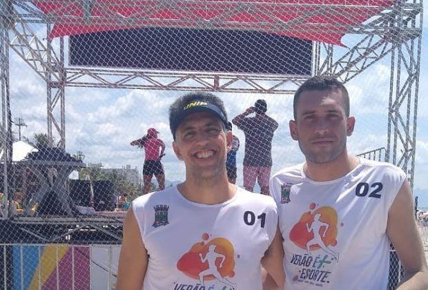 OR – Dupla guaçuana termina na 4ª colocação no Torneio de Vôlei em Duplas, em Bertioga
