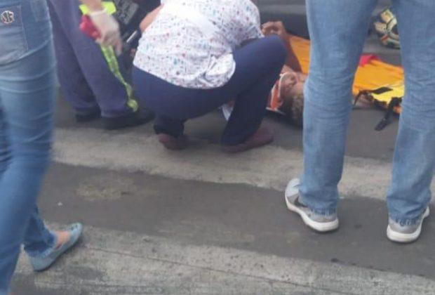 JP – Jovem sofre acidente de moto durante perseguição policial em Santo Antônio de Posse