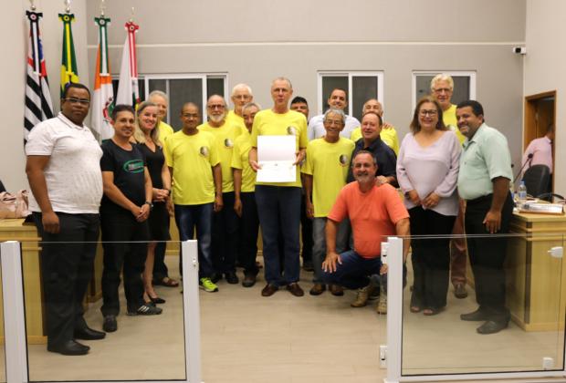 Câmara realiza homenagem aos Amigos da Cachoeira