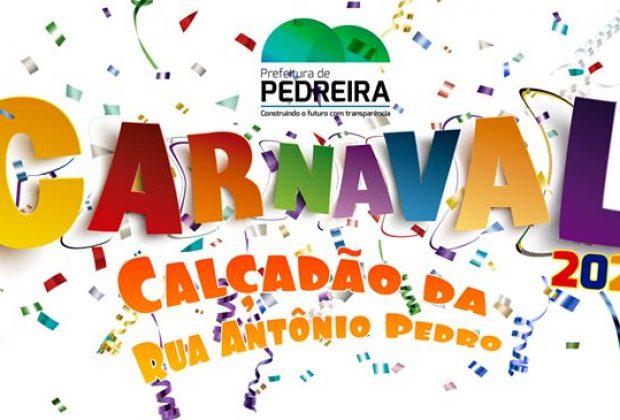 """OR – """"Carnaval Pedreira 2020"""" terá Sapo Brasilis Banda, Bateria Show Guerreiros da Tribo e Debanda Pra Lua"""