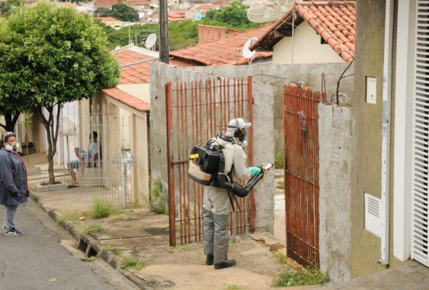 Inseticida começa a ser aplicado no Guaçu-Mirim