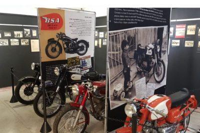 Mostra retrata os 120 anos do motociclismo no Brasil em Socorro/SP