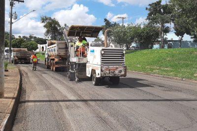 Iniciado o recape da Avenida dos Trabalhadores em Mogi Guaçu