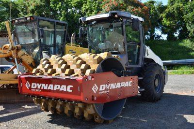 OR – Prefeitura de Itapira adquire rolo compactador para manutenção de estradas