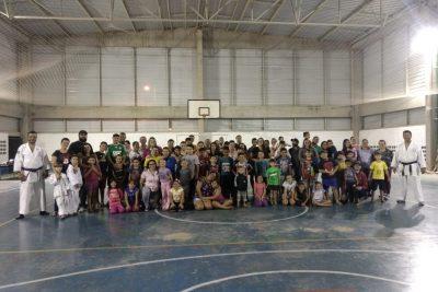 Inscrições abertas para aulas de caratê em Mogi Guaçu