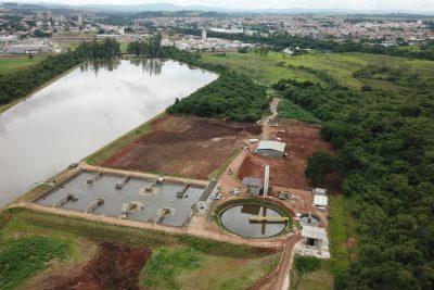 Iniciada a construção de segundo módulo na estação de tratamento de esgoto em Mogi Guaçu