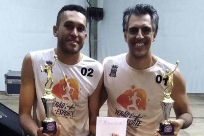 Dupla guaçuana conquista o bronze no 14º Torneio de vôlei de Praia de Corumbataí