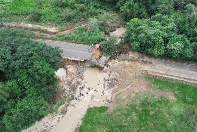 Exército estuda a implantação de ponte móvel na estrada de Martinho Prado