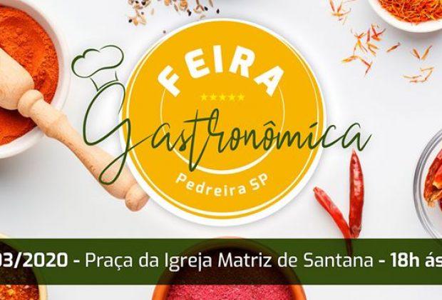 Feira Gastronômica de Pedreira acontecerá na Praça Santana com muitas atrações