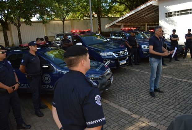 Polícia Municipal recebe novas viaturas da Prefeitura de Jaguariúna