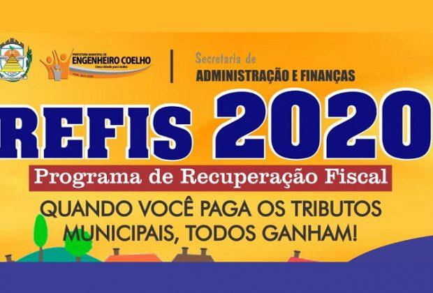 Prefeitura de Engenheiro Coelho institui o Programa de Recuperação Fiscal 2020