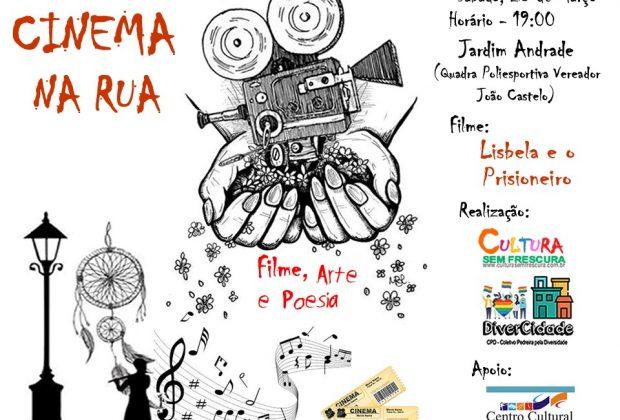 """Jardim Andrade recebe o """"Projeto Cinema na Rua"""""""