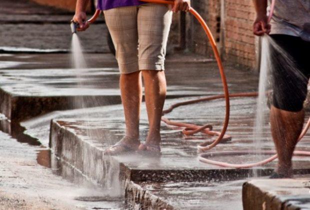 DAE orienta população sobre o uso consciente da água e alerta para multa