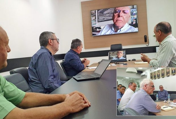Prefeito e produtores discutem saídas para setor de flores com lideranças do Estado