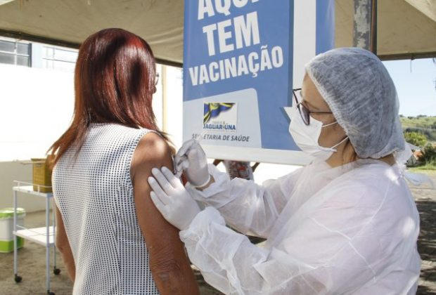 Duas mil doses da vacina contra gripe são aplicadas em Jaguariúna