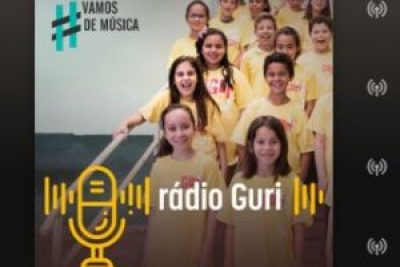 "Projeto Guri lança podcast ""Radio Guri"" produzido por alunos"