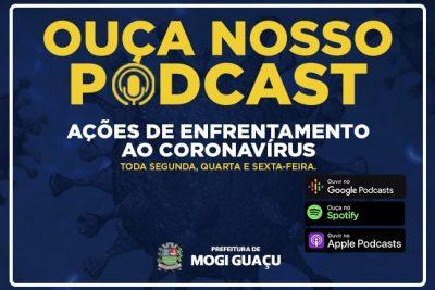Conteúdo sobre coronavírus está disponível em formato podcast