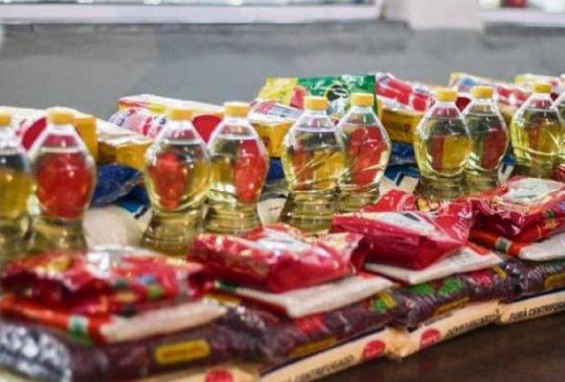 Programa Alimento Solidário entrega cestas básicas às famílias em vulnerabilidade social do município
