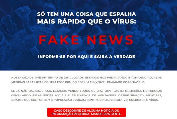 Prefeitura de Jaguariúna lança hotsite para combater fake news