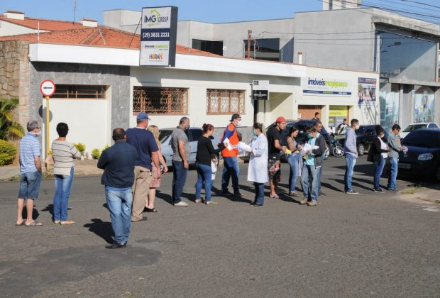 3.700 máscaras já foram distribuídas em Mogi Guaçu