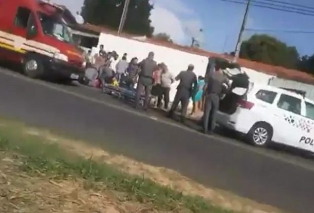 Motociclista atropela criança de oito anos em Amparo