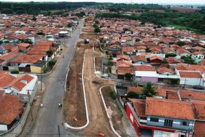 Avenida Alíbio Caveanha: obras não contempladas no plano de Mobilidade Urbana estão próximas da conclusão em Mogi Guaçu