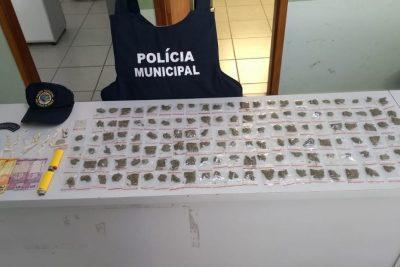 AÇÃO CONJUNTA ENTRE POLICIA MUNICIPAL E POLÍCIA CÍVIL DE SANTO ANTÔNIO DE POSSE ACABOU COM A APREENSÃO DE DOIS MENORES