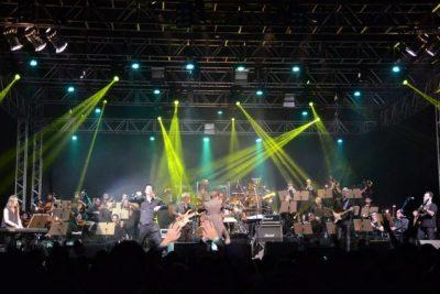 Orquestra Rock e Dinho Ouro Preto gravam vídeos com músicas em prol do Centro Infantil Boldrini