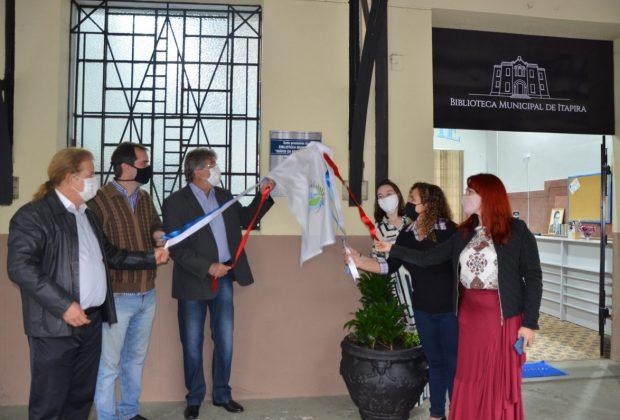 Nova sede da Biblioteca Municipal é inaugurada – Itapira