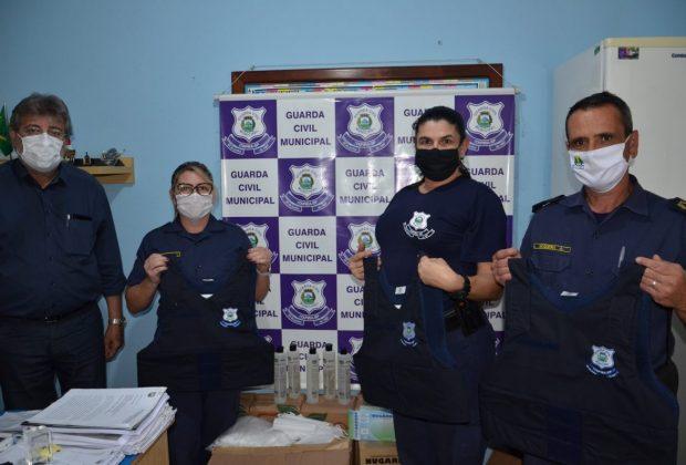 Guarda Civil Municipal recebe novos coletes