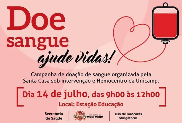 Santa Casa  de Mogi Mirim organiza campanha de doação de sangue