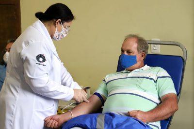 Doação de sangue mobiliza mogimirianos