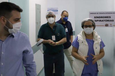 Santa Casa recebe visita de diretor do Departamento Regional de Saúde