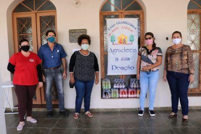 CIPA faz doação à Casa Transitória e ao Lar São Vicente – Itapira