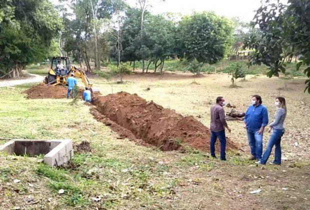 Obras do Sistema de Esgotamento Sanitário e Estações Elevatórias do distrito de Arcadas tem início – Amparo
