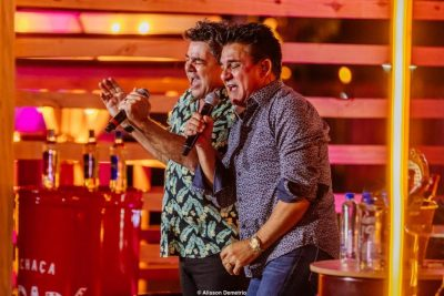 Cezar e Paulinho anunciam primeira live