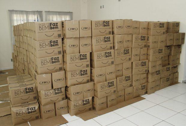 Programa Jaguariúna Solidária já arrecadou cerca de 11 toneladas em alimentos e refeições