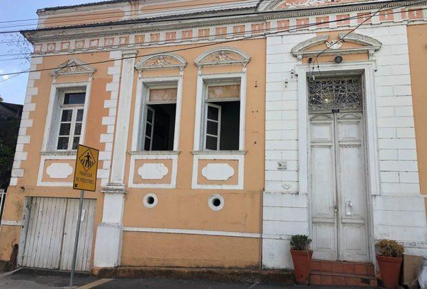 Iniciada as obras de reforma da sede dos Museus Histórico e da Porcelana de Pedreira