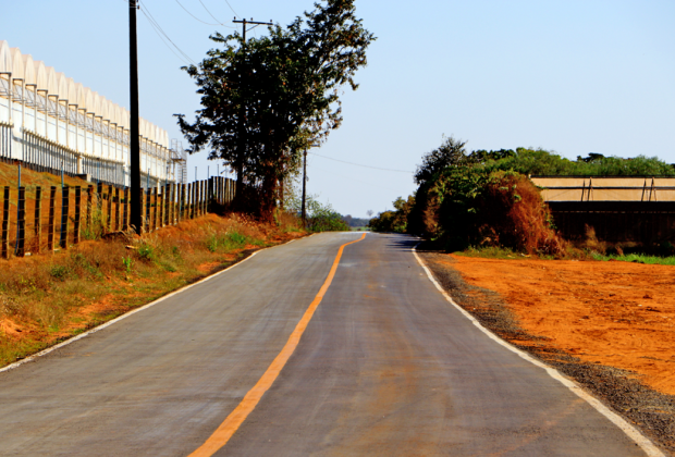 Prefeitura de Holambra entrega esta semana pavimentação de trecho da HBR-210