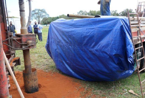 SAEAN inicia obras de cinco novos poços de água